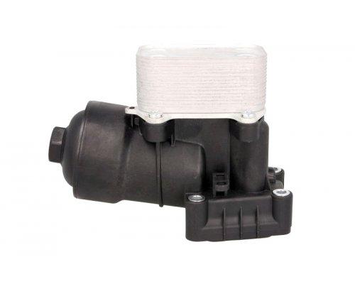Радиатор масляный / теплообменник (с корпусом) VW Caddy III 1.6TDI / 2.0TDI 2010-2015 31355 NRF (Нидерланды)