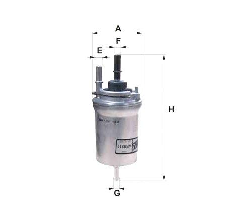 Фильтр топливный VW Transporter T6 2.0TSI 2015- 32201002 AND