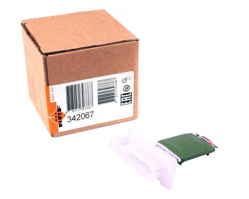 Реостат / резистор печки (4 контакта, начиная с № кузова: R365851) MB Sprinter 901-905 1995-2006 342067 NRF (Нидерланды)