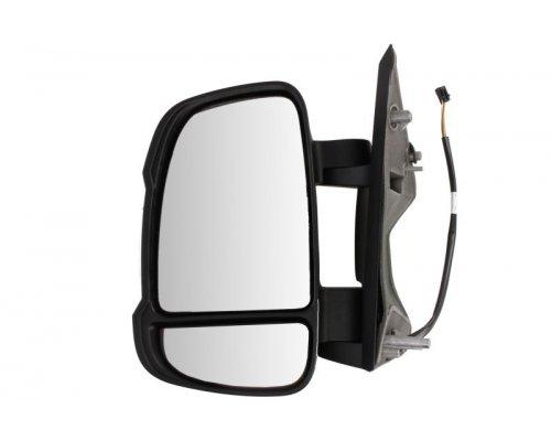 Зеркало левое электрическое (с подогревом) Fiat Ducato II / Citroen Jumper II / Peugeot Boxer II 2006- 350315027730 MAGNETI MARELLI (Италия)