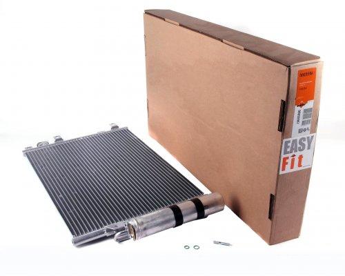 Радиатор кондиционера (510x380x16мм) Renault Kangoo 1997-2008 35967 NRF (Нидерланды)
