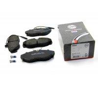 Тормозные колодки передние (с датчиком, R15) Fiat Ducato / Citroen Jumper / Peugeot Boxer 1994-2002 36883 ABS (Нидерланды)