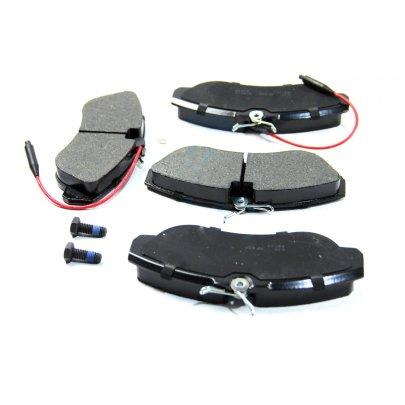 Тормозные колодки передние (с датчиком, R16) Fiat Ducato / Citroen Jumper / Peugeot Boxer 1994-2002 05P494 LPR (Италия)