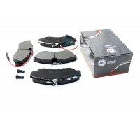 Тормозные колодки передние (с датчиком, R16) Fiat Ducato / Citroen Jumper / Peugeot Boxer 1994-2002 36884 ABS (Нидерланды)