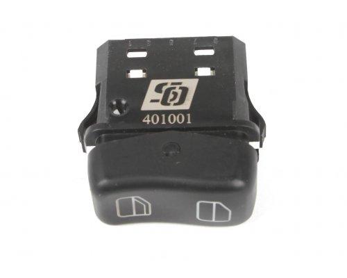 Кнопка стеклоподъемника правая одинарная (пассажирска, до 2000 г.в.) MB Sprinter 901-905 1995-2000 401001 SOLGY (Испания)