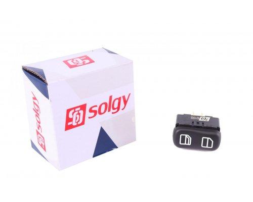 Кнопка стеклоподъемника правая одинарная (пассажирская, начиная с 2000 г.в.) MB Sprinter 901-905 2006-2006 401002 SOLGY (Испания)