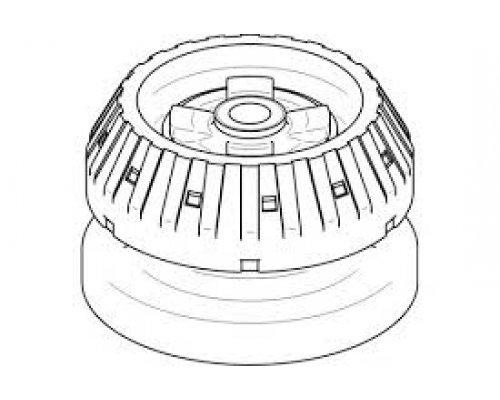 Подушка амортизатора MB Vito 638 1996-2003  401233 TOPRAN (Германия)