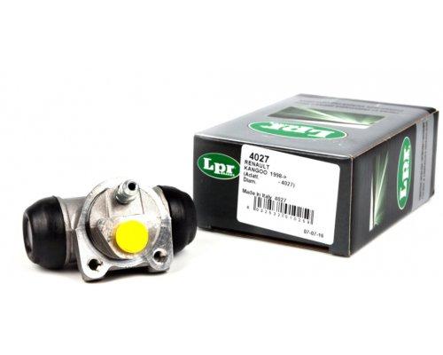 Цилиндр тормозной рабочий задний (не для повышенной нагрузки) Renault Kangoo / Nissan Kubistar 97-08 4027 LPR (Италия)
