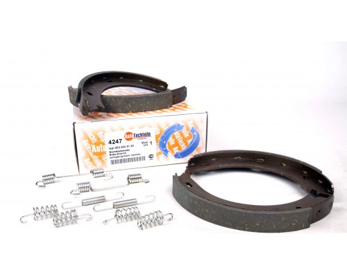 Колодки ручника (180x20, с пружинками) MB Vito 638 1996-2003 4247 AUTOTECHTEILE (Германия)