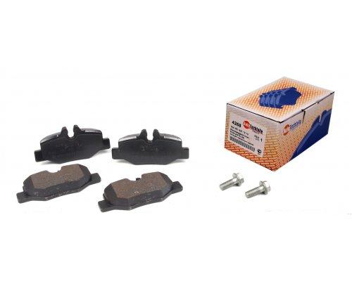 Тормозные колодки задние MB Vito 639 2003- 4268 AUTOTECHTEILE (Германия)
