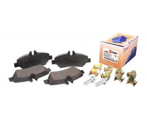 Тормозные колодки задние без датчика VW Crafter 2006- 4269 AUTOTECHTEILE (Германия)