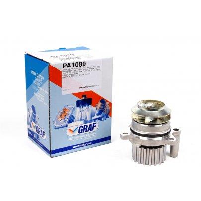 Помпа / водяной насос VW Caddy III 1.6TDI / 2.0TDI 07- PA1089 GRAF (Италия)