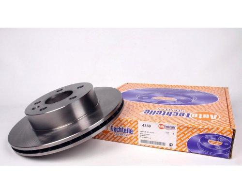 Тормозной диск передний вентилируемый (276х22мм) MB Vito 638 1996-2003 4350 AUTOTECHTEILE (Германия)
