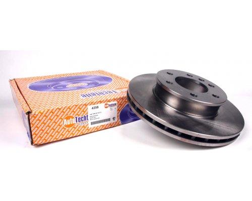 Тормозной диск передний (299.6х28мм) VW Crafter 2006- 4358 AUTOTECHTEILE (Германия)