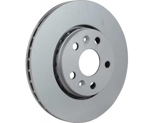 Тормозной диск передний (R15 / R16, D=280mm) Renault Kangoo II / MB Citan 2008- 4363101600 JP GROUP (Дания)