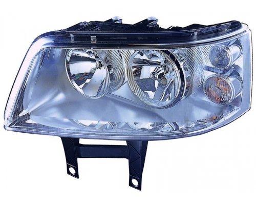 Фара передняя левая (тип ламп: H1 / H7) VW Transporter T5 2003-2009 441-1175L-LD-EM DEPO (Тайвань)