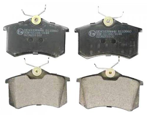 Тормозные колодки задние (LUCAS) Fiat Scudo / Citroen Jumpy / Peugeot Expert 1995-2006 465381 FOMAR (Польша)