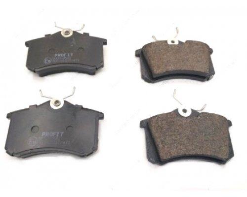 Тормозные колодки задние (LUCAS) Fiat Scudo / Citroen Jumpy / Peugeot Expert 1995-2006 5000-0541 PROFIT (Чехия)