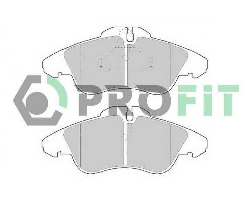 Тормозные колодки передние без датчика (система ATE) MB Vito 638 1996-2003 5000-1038 PROFIT (Чехия)