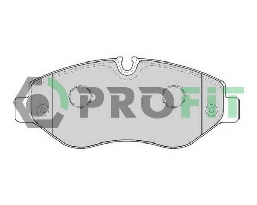 Тормозные колодки передние без датчика VW Crafter 2006- 5000-1778 PROFIT (Чехия)
