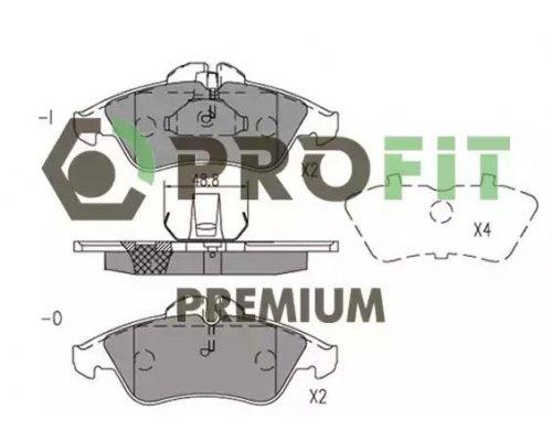 Тормозные колодки передние (Premium) MB Sprinter 208-316 1995-2006 5005-1038 PROFIT (Чехия)