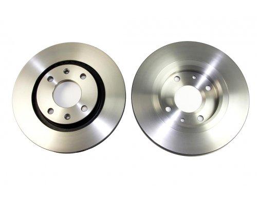 Тормозной диск передний вентилируемый (266x22mm) Peugeot Partner / Citroen Berlingo 1996-2011 5010-1140 PROFIT (Чехия)