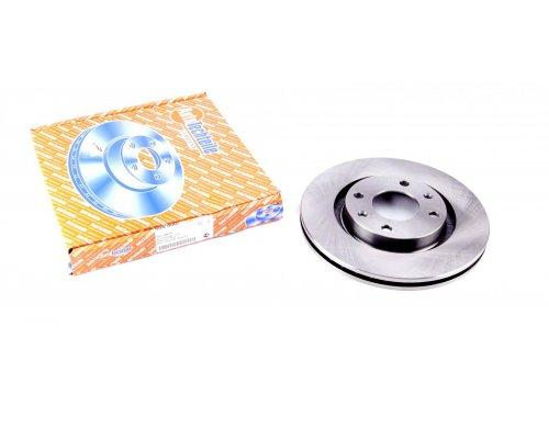 Тормозной диск передний вентилируемый (266x22mm) Peugeot Partner / Citroen Berlingo 1996-2011 5040007 AUTOTECHTEILE (Германия)
