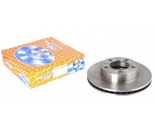 Тормозной диск передний (302х28мм) Renault Master III / Opel Movano B 2010- 5040017 AUTOTECHTEILE (Германия)