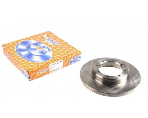 Тормозной диск задний (задний привод, со сдвоенным колесом, 302х18мм) Renault Master III / Opel Movano B 2010- 5040020 AUTOTECHTEILE (Германия)