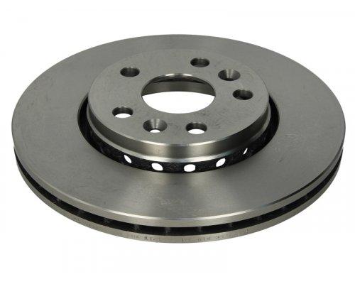 Тормозной диск передний (R15 / R16, D=280mm) Renault Kangoo II / MB Citan 2008- 5040023 AUTOTECHTEILE (Германия)