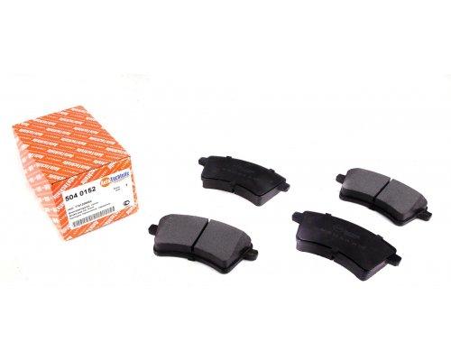 Тормозные колодки передние (R15 / R16) Renault Kangoo II / MB Citan 2008- 5040152 AUTOTECHTEILE (Германия)