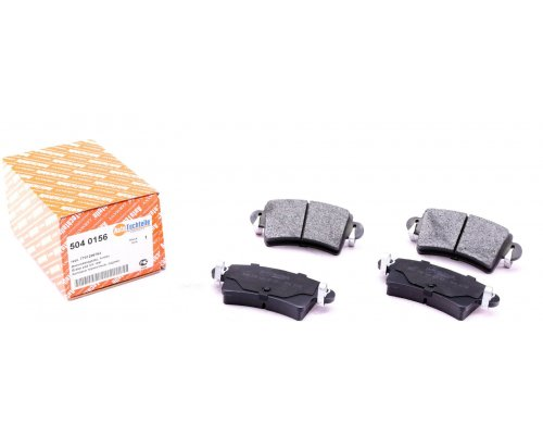 Тормозные колодки задние Renault Master II / Opel Movano 1998-2010 5040156 AUTOTECHTEILE (Германия)