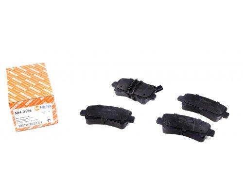 Тормозные колодки задние (без сдвоенного колеса, с датчиком) Renault Master III / Opel Movano B 2010- 5040158 AUTOTECHTEILE (Германия)