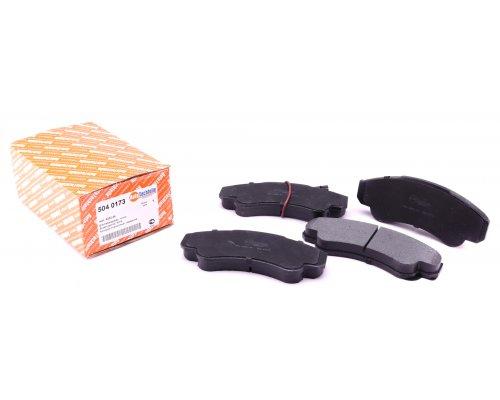 Тормозные колодки передние (с датчиком, R16) Fiat Ducato / Citroen Jumper / Peugeot Boxer 1994-2006 5040173 AUTOTECHTEILE (Германия)