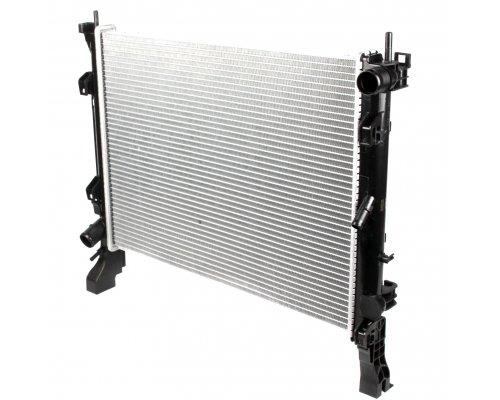 Радиатор охлаждения (430x560x26мм) Renault Kangoo II 1.5dCi 2008- 53001 NRF (Нидерланды)