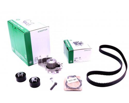 Комплект ГРМ (141 зуб, + помпа, до 2004 г.в.) Fiat Scudo / Citroen Jumpy / Peugeot Expert 2.0HDi / 2.0JTD 1995-2006 530011130 INA (Германия)