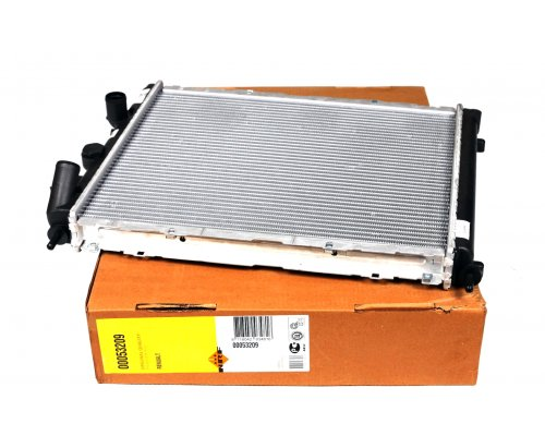 Радиатор охлаждения (480х413х24мм) Renault Kangoo 1.6 (бензин) 1997-2008 58148 NRF (Нидерланды)