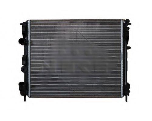 Радиатор охлаждения (475х397х16мм) Renault Kangoo 1.2 (бензин) 1997-2008 53210 NRF (Нидерланды)