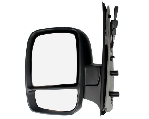 Зеркало левое механическое (с двумя вкладышами) Fiat Scudo II / Citroen Jumpy II / Peugeot Expert II 2007- 5402-04-1121556P BLIC (Польша)