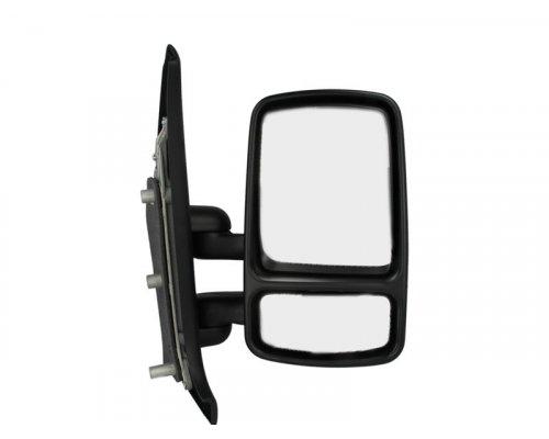 Зеркало механическое правое (без подогрева, до 2003 г.в.) Renault Master II / Opel Movano 1998-2003 5402-04-9215992P BLIC (Польша)
