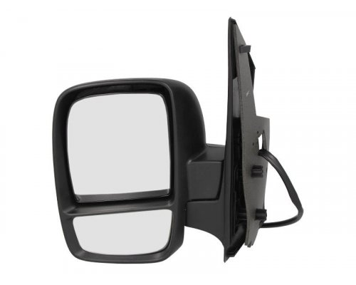 Зеркало левое электрическое (с подогревом, с двумя вкладышами) Fiat Scudo II / Citroen Jumpy II / Peugeot Expert II 2007- 5402-04-9222956P BLIC (Польша)