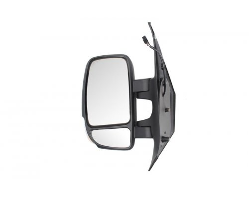Зеркало левое электрическое (с подогревом, 7 контактов, сферичное) Renault Master III / Opel Movano B 2010- 5402-16-2001945P BLIC (Польша)