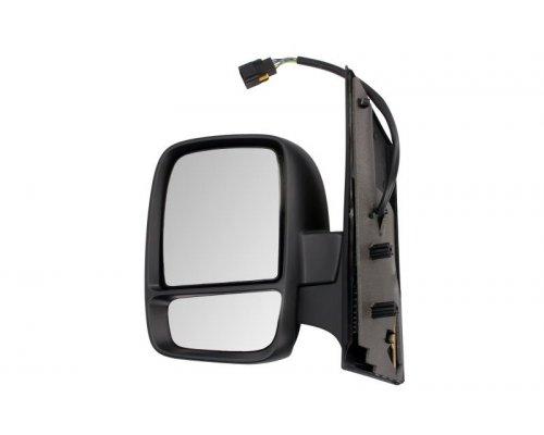 Зеркало левое электрическое (с подогревом, с двумя вкладышами, с электроскладыванием, под покраску) Fiat Scudo II / Citroen Jumpy II / Peugeot Expert II 2007- 5402-21-032335P BLIC (Польша)
