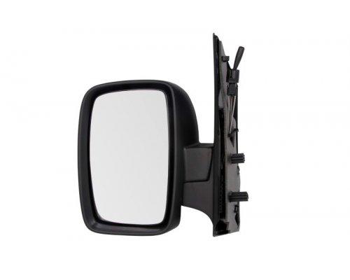 Зеркало левое механическое (с одним вкладышем) Fiat Scudo II / Citroen Jumpy II / Peugeot Expert II 2007- FP2032M01 FPS (Тайвань)