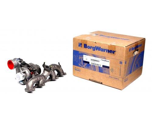 Турбина (двигатель BJB) VW Caddy III 1.9TDI 2004-2010 54399880022 BORGWARNER (США)