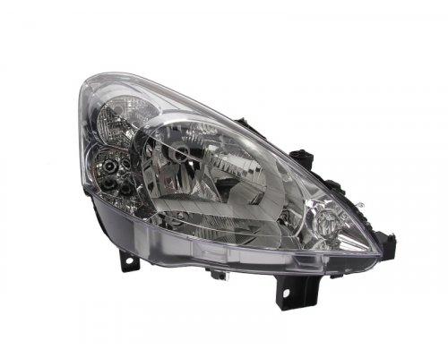 Фара передняя правая (тип ламп: H4) Peugeot Partner II 2008- 550-1149RMLD-EM DEPO (Тайвань)