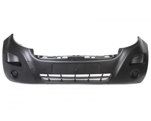 Бампер передний (без отверстий под противотуманку) Renault Master III 2010- 5510-00-6089900P BLIC (Польша)