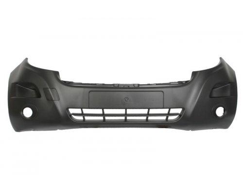 Бампер передний (с отверстиями под противотуманку) Renault Master III 2010- 5510-00-6089901P BLIC (Польша)