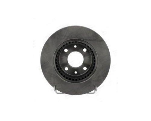 Тормозной диск передний (с ABS, D=259mm) Renault Kangoo / Nissan Kubistar 97-08 561997CH CHAMPION (США)