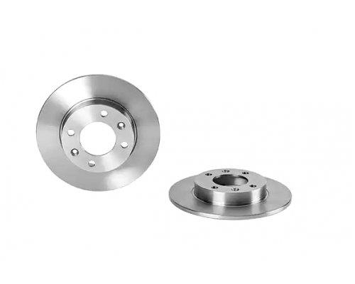 Тормозной диск задний (247x9мм) Peugeot Partner / Citroen Berlingo 1996-2011  562130CH CHAMPION (США)